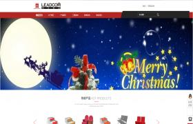 红色桌椅制造业公司模板 -,优质网站展示- webube